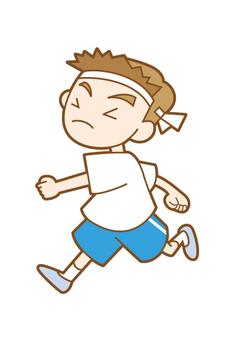 Running boy 2