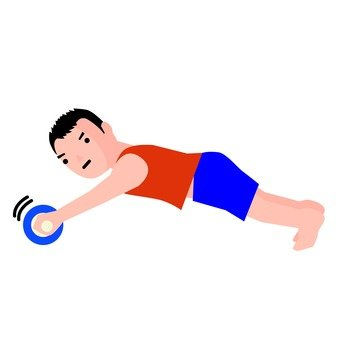 Abdominal muscle roller 3