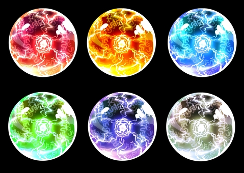 Orb (with background transparent PNG)