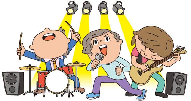 밴드 3 명
