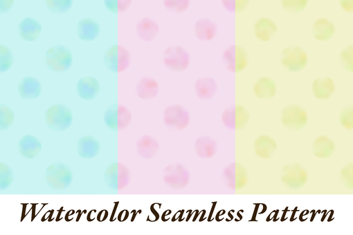 Watercolor pattern texture