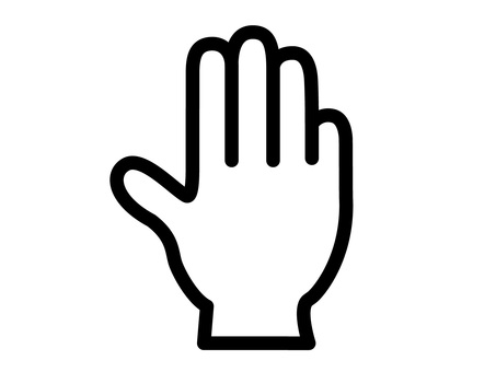 Hand icon 04