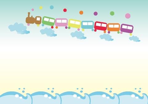 Fairy tale train summer