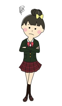 High school girl 2-14