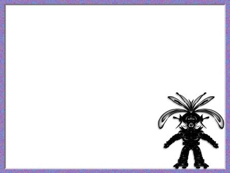 Space rabbit skater (2702)