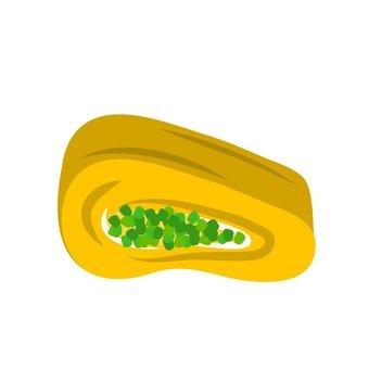 파 들어가 계란말이