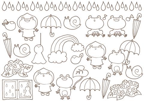 雨季集(線)