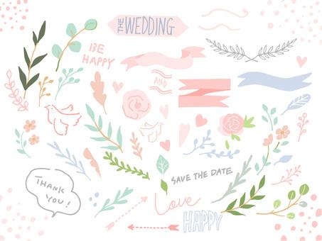 Natural wedding material