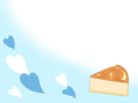 Cheesecake Notepad (Blue)