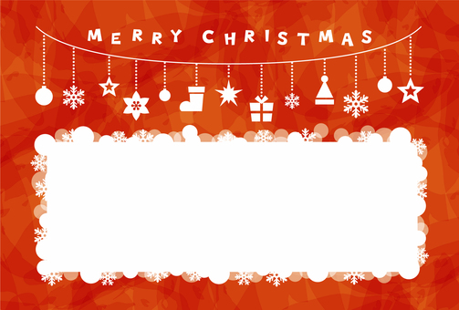 Christmas / card red