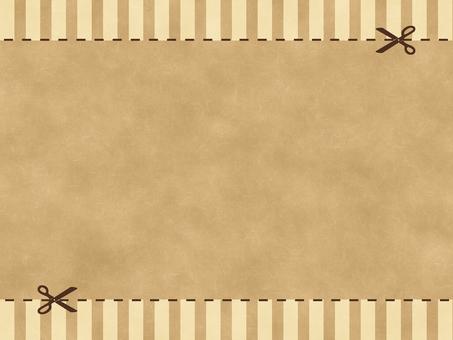 Craft background stripe