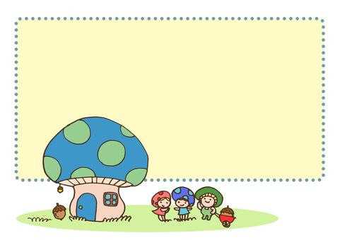 fairy _ mushroom fairy and mushroom house 2