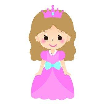 Princess (pink dress)