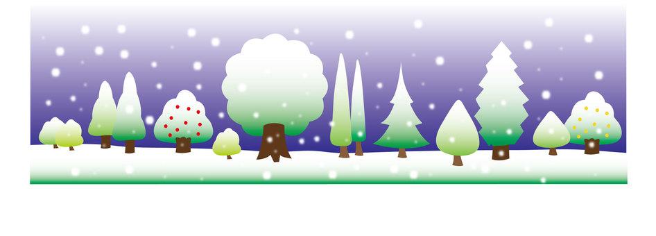 Various Trees - Winter