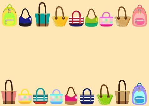 Bag frame ~ pink type