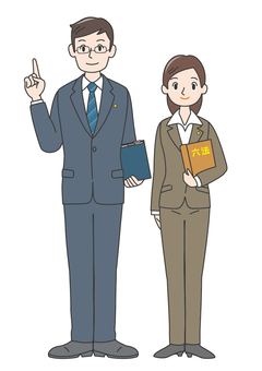 b5 judicial examination law male female pointing