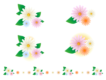 Various flower decorations 2