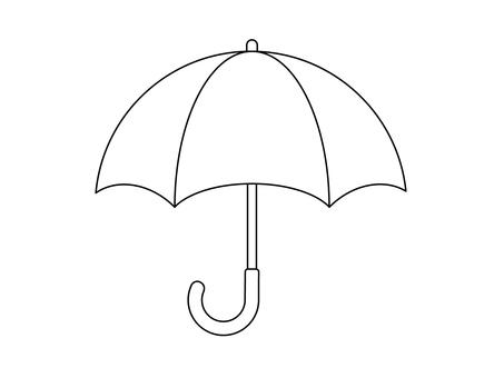 Umbrella (line drawing)