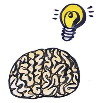 Flashing brain