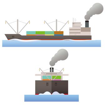 船 貨物船