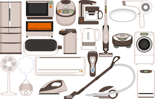 Home electronics set