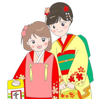 Shichigosan姐妹