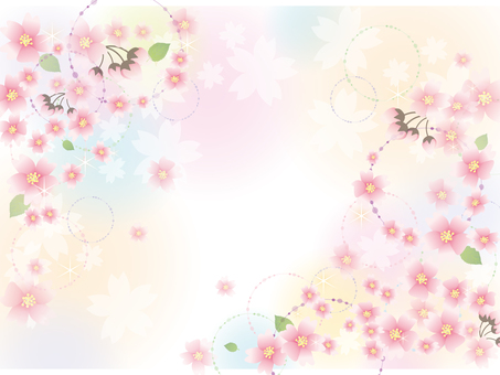 Cherry Blossom Flower Image 1 (Completed)