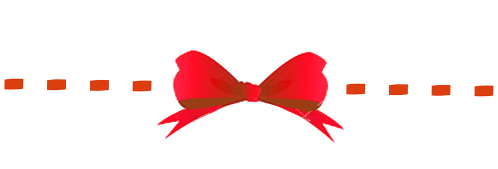 Ribbon knot _ red