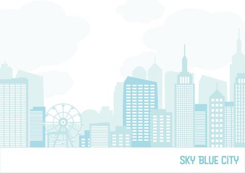 青の街フレーム