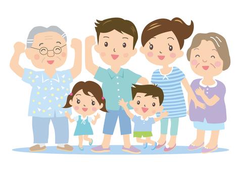 夏天的家庭