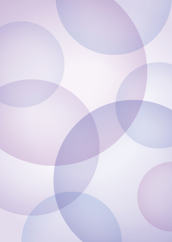 Background circle large and small purple A4 painted size