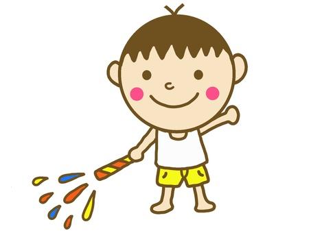 Kids fireworks