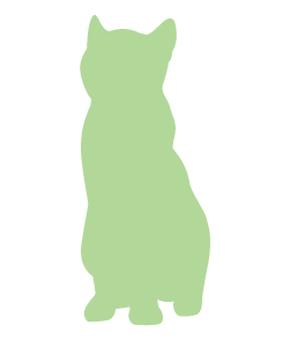 Cat's silhouette 13