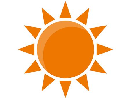 오렌지 태양