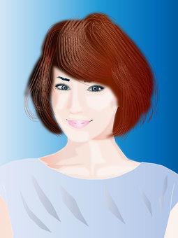 Hair style 06