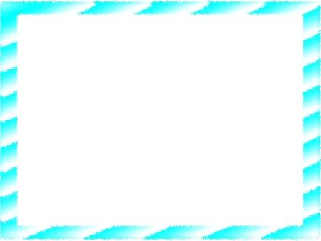 Frame light blue stripe