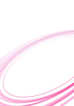 シンプルな曲線の背景 ピンク