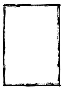 Brush frame ink 02-04