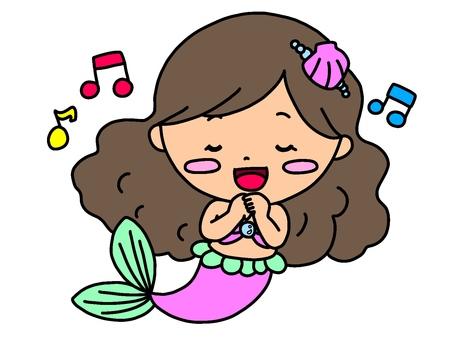 Singing mermaid princess ♪