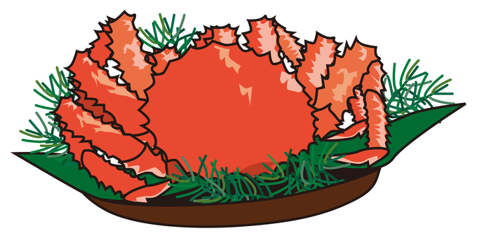 Crab dish (king crab)
