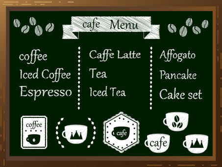 Cafe blackboard 4