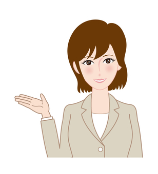 Female employee A - information
