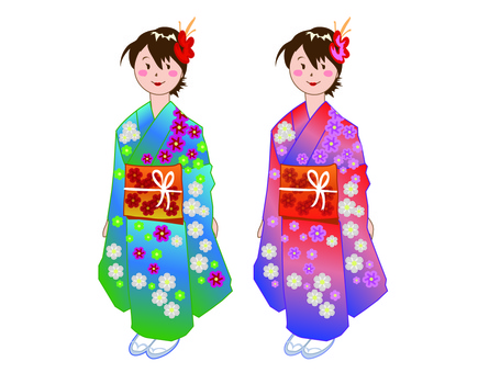 Adult ceremony girl