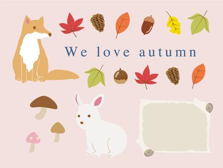 Autumn Animal Natural