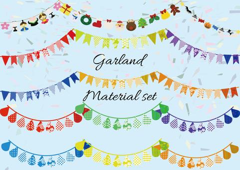 Garland Material set