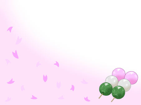 Sakura and dumplings
