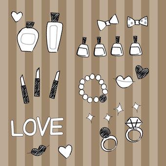 Cosmetics (monochrome)
