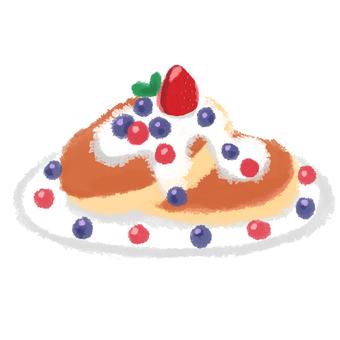 Pancake fruit