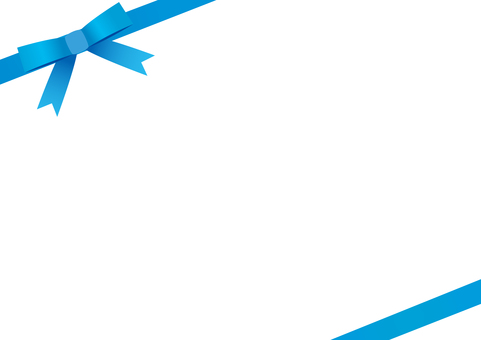 Wrapping frame <oblique / blue>