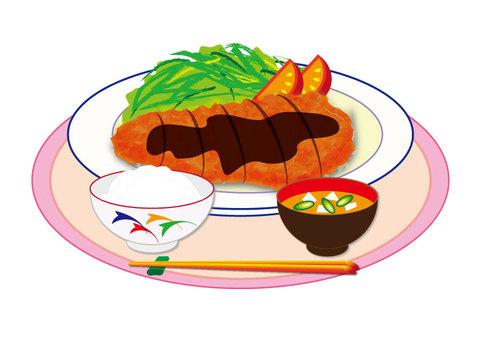 Tonkatsu (Tonkatsu set menu)